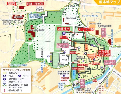 熊本城マップ図